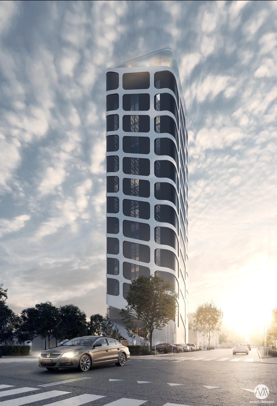 projekt Toruń wieżowiec