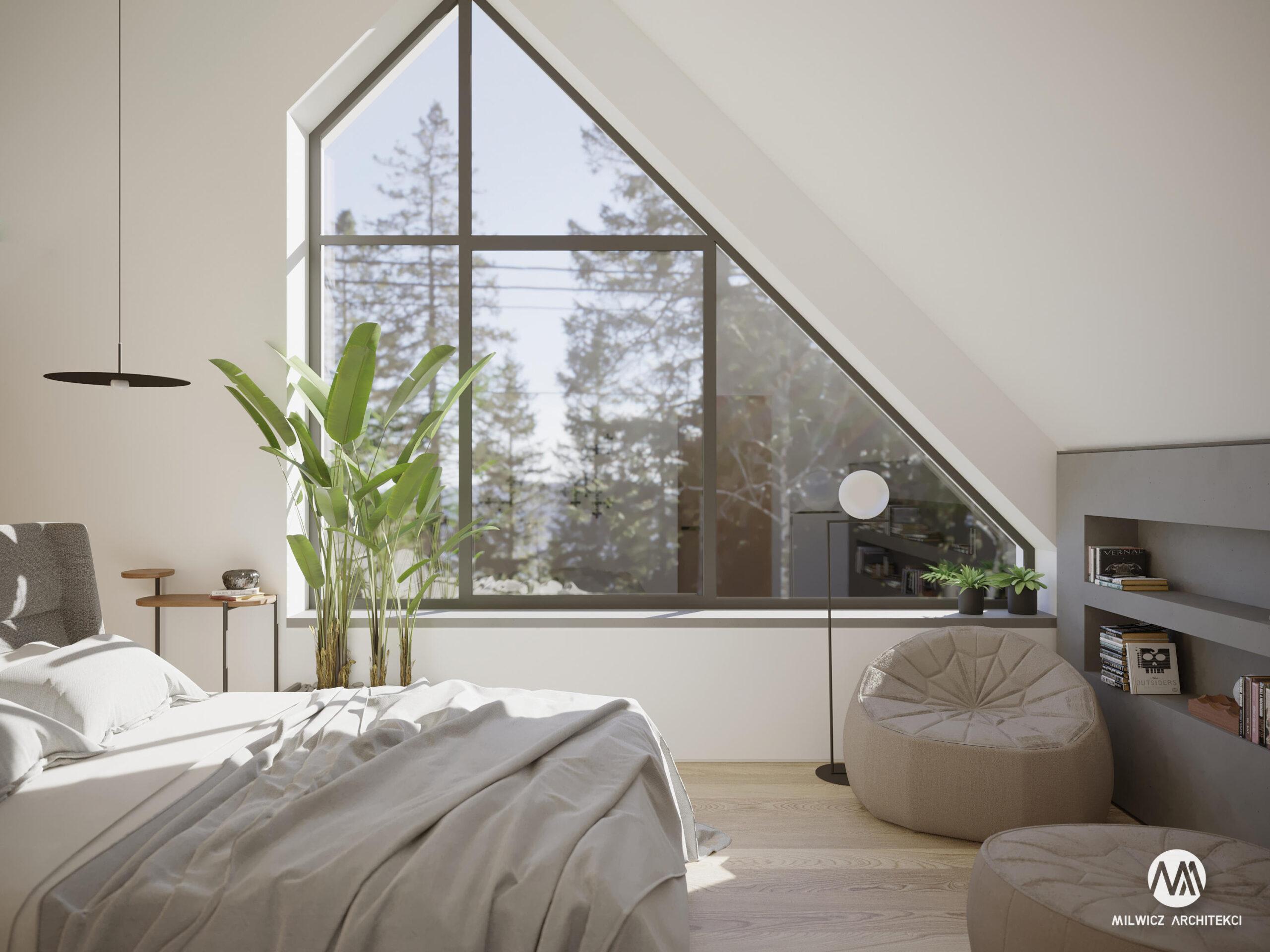 projekty indywidualne, projekty wnętrz, minimalizm, nowoczesna stodoła