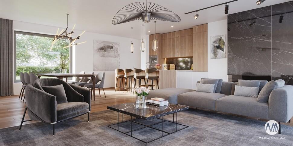 projekty gotowe, domy piętrowe, projekty wnętrz, nowoczesna architektura