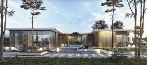 Konin - realizacja, projekty indywidualne, modernizm, nowoczesna architektura, duże przeszklenia, dom z patio
