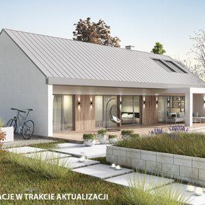 Projekt na zgłoszenie, projekt bez pozwolenia, dom do 35m2, mały dom, dom letniskowy, budynek rekreacji indywidualnej, konstrukcja szkieletowa, HBE, CLT, nowoczesna stodoła, nowoczesna architektura, energooszczędny, ekonomiczny, ekologiczny, budynek całoroczny, budynek pasywny, zeroenergetyczny, modułowy, z rozbudową, drewniany, przeszklona fasada, glamping, slowhop, dom pod miastem, projekt gotowy, dom na wąską działkę, tani dom, parterowy