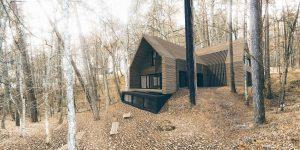 projekt indywidualny Krynica, nowoczesna stodoła, projekt indywidualny Morska