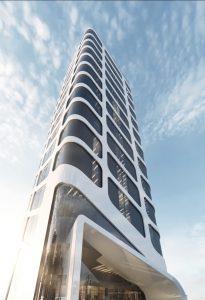 projekt indywidualny Toruń wieżowiec