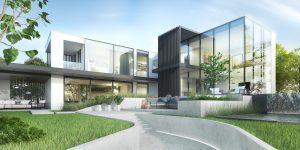 projekt indywidualny Warka, projekty indywidualne, modernizm, wielkie okna