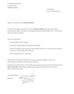 Referencje Milwicz Architekci